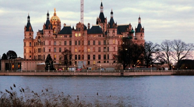 Zdjęcia: Schwerin, Pojezierze Meklemburskie, Zamek w Schwerinie, NIEMCY