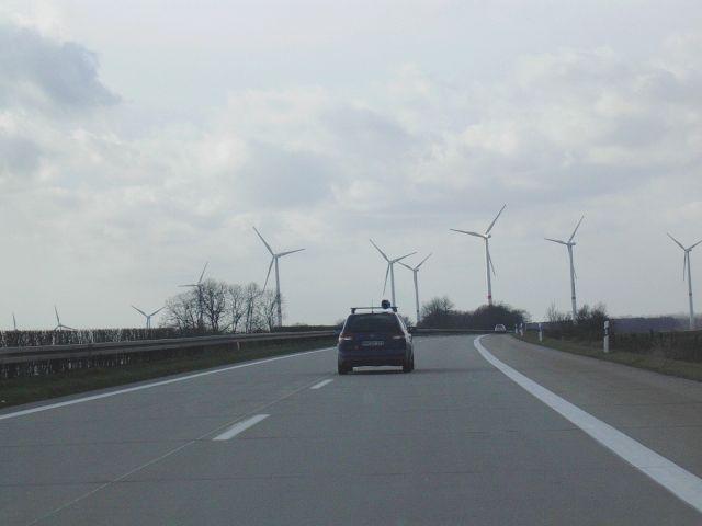 Zdjęcia: Autostrada, W drodze do Hamburga, NIEMCY