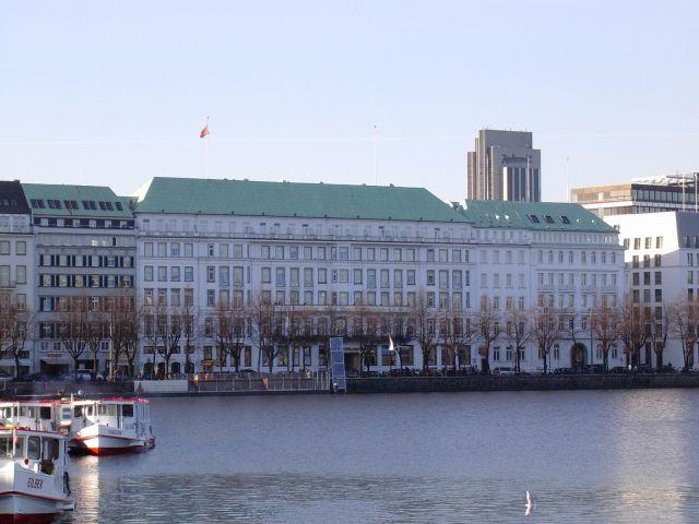 Zdj�cia: Widok na �ab�, Hamburg 4, NIEMCY