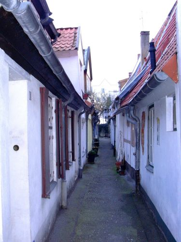 Zdjęcia: Lubeka, Uliczka na starym mieście, NIEMCY