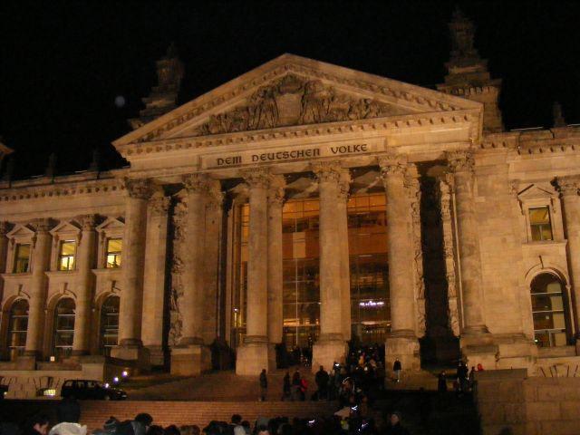 Zdjęcia: Berlin, Branderburgia, Wejście do Reichstagu, NIEMCY