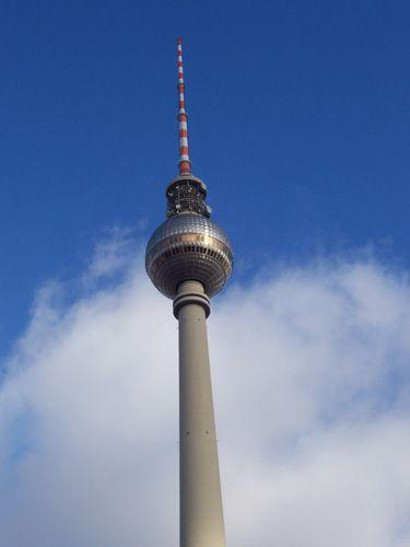 Zdjęcia: Berlin, Wieża telewizyjna, NIEMCY