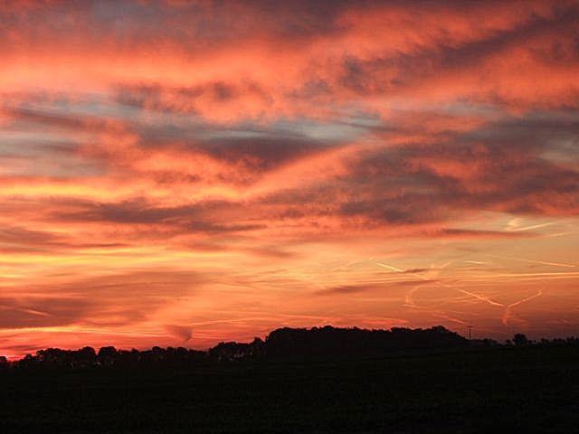 Zdj�cia: okolice Kolonii, Nadrenia P�nocna-Westfalia, poranek w okolicach Kolonii, NIEMCY
