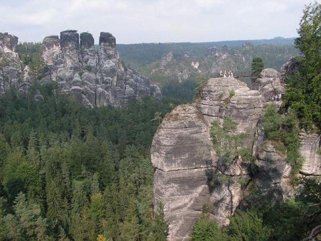 Zdj�cia: Bastei , Szwajcaria Sakso�ska, Natura, NIEMCY