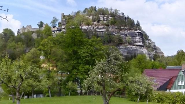 Zdjęcia: Oybin, Góry Żytawskie, Góra Oybin, NIEMCY