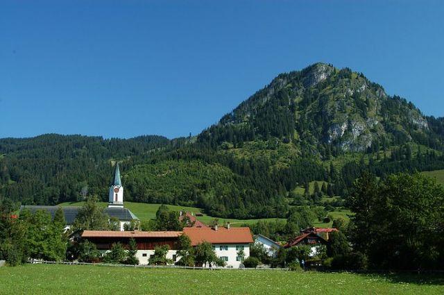 Zdjęcia: Okolice Obersdorfu, Allgau, Alpejskie lato, NIEMCY