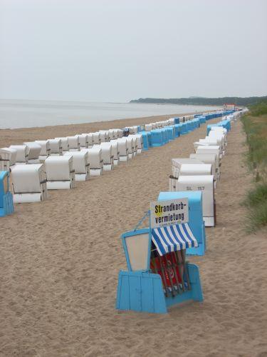 Zdjęcia: Zinnowitz, Uznam, Kosze plażowe, NIEMCY
