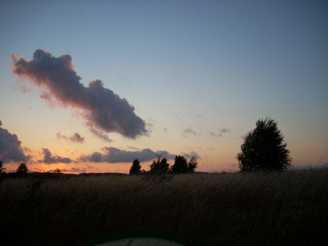 Zdjęcia: Seedorf, Rugia, W czasie zachodu słońca., NIEMCY