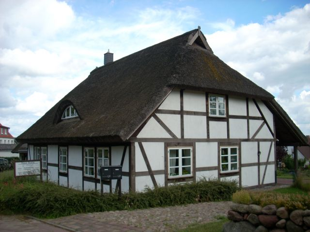 Zdjęcia: Lancken-Granitz, Rugia, Pruski mur., NIEMCY