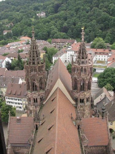 Zdjęcia: Freiburg, Schwarzwald, katedra 1, NIEMCY