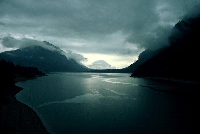 Zdjęcia: Sylvensteinsee , Górna Bawaria, Prawie jak w Norwegii, NIEMCY