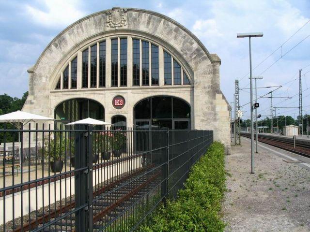 Zdjęcia: Poczdam, Europa, Stary dworzec kolejowy w Poczdamie., NIEMCY
