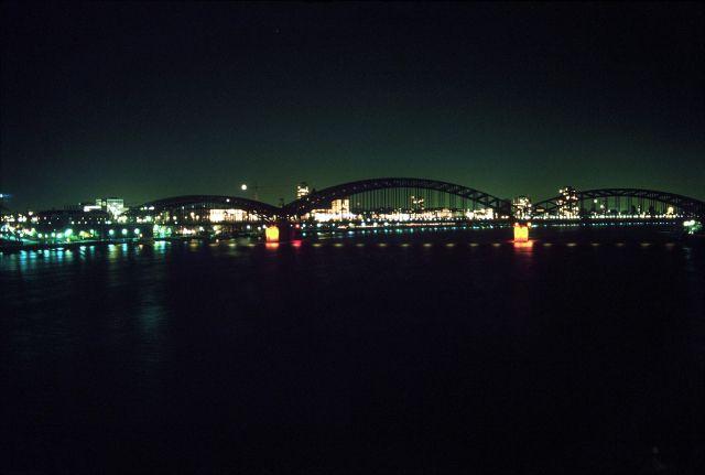 Zdjęcia: Kolonia, mosty na Renie, NIEMCY