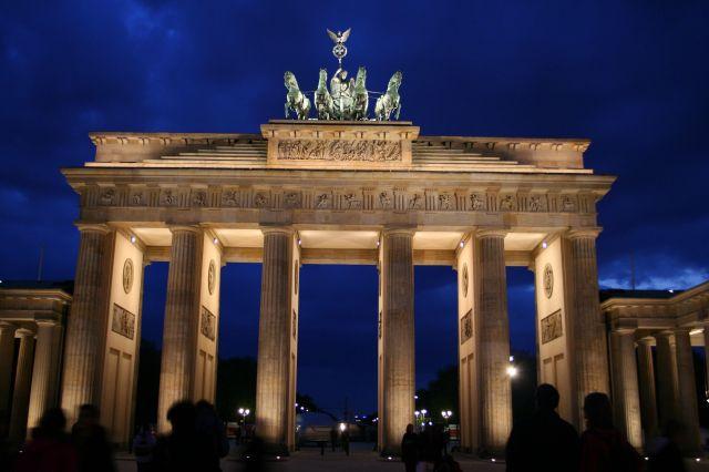 Zdjęcia: Berlin, Brandenburgia, Berlin, BB by night, NIEMCY
