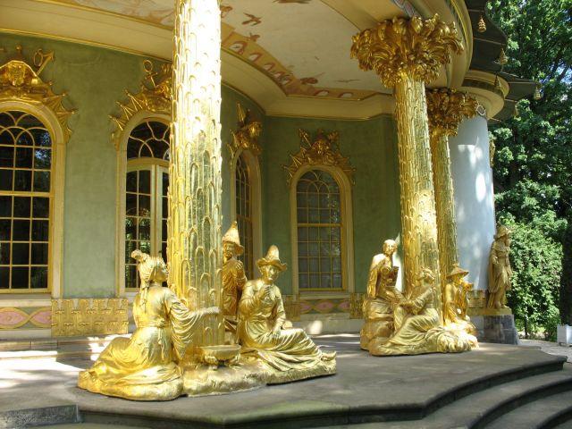 Zdjęcia: Poczdam, Brandenburgia, chinski domek, NIEMCY