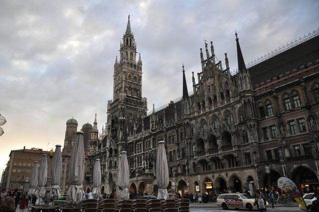 Zdjęcia: Monachium, Bawaria, marienplatz, NIEMCY