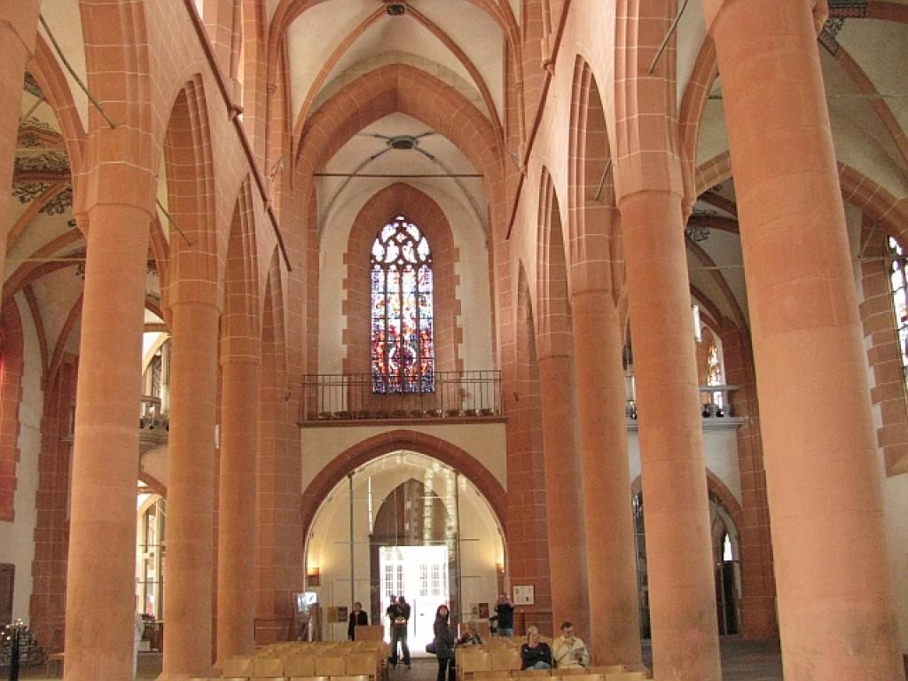 Zdjęcia: Heidelberg, Badenia - Wirtembergia, Heidelberg - kościół Św. Ducha, NIEMCY