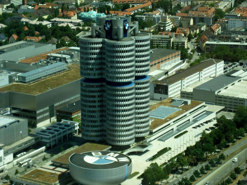 Zdjęcia: Niemcy, Bawaria, Budynek BMW, NIEMCY