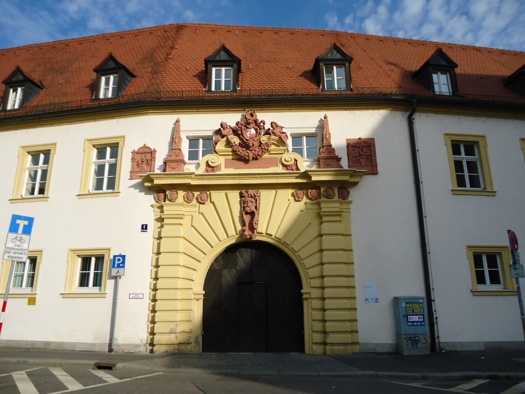 Zdjęcia: Wurzburg, Bawaria (Frankonia), Wurzburg - zabudowa Starego Miasta, NIEMCY