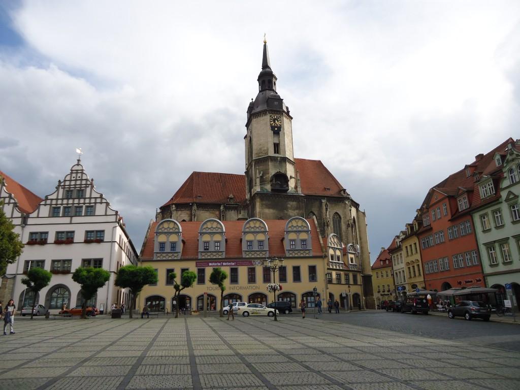 Zdjęcia: Naumburg, Saksonia - Anhalt, Rynek w Naumburgu (2), NIEMCY
