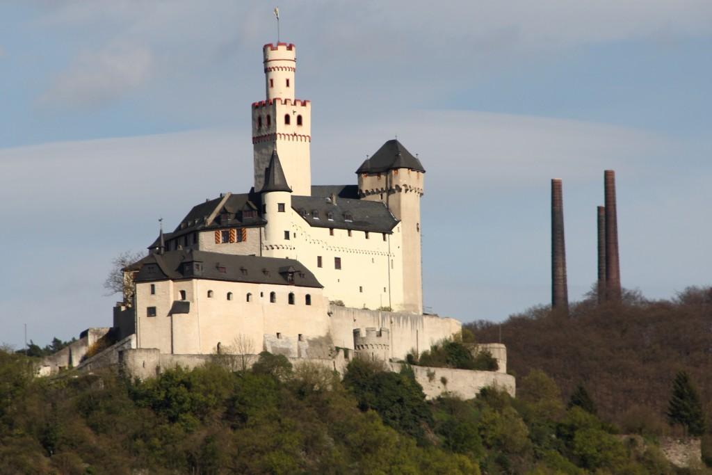 Zdjęcia: Zamek Marksburg, Braubach, Bajkowy zamek 3, NIEMCY
