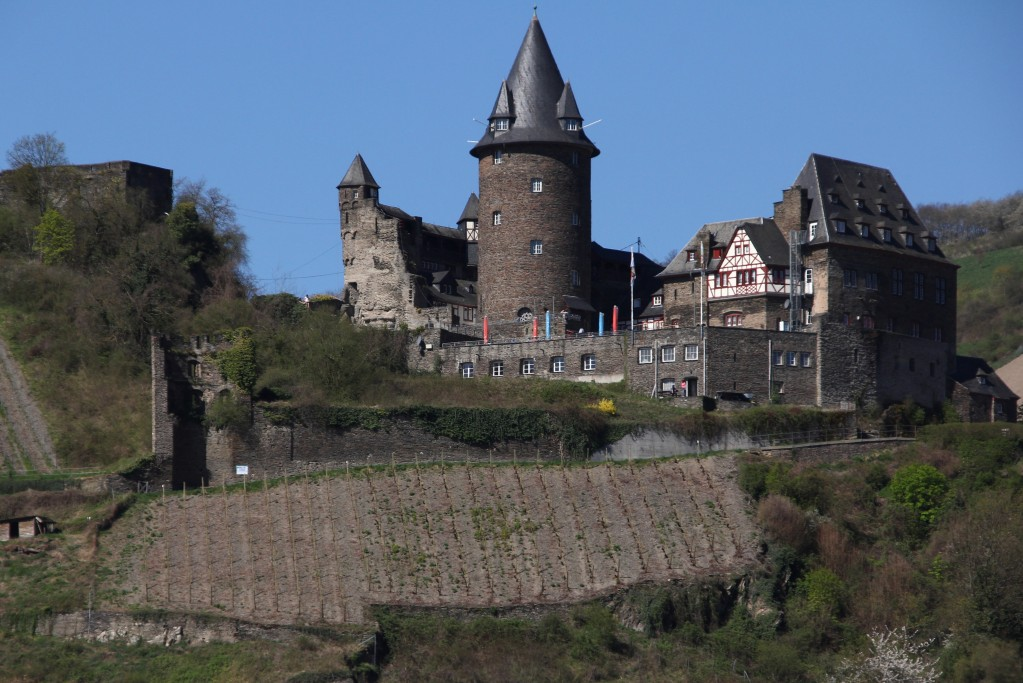 Zdjęcia: Zamek Bacharach, Nadrenia, Bajkowy zamek 5, NIEMCY