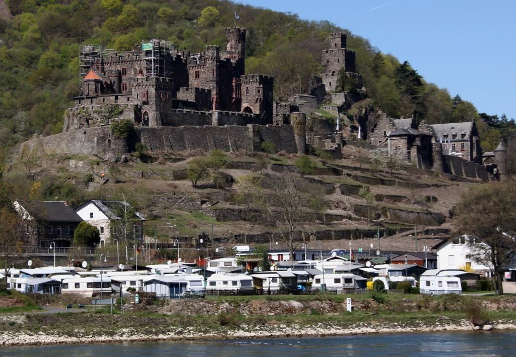 Zdjęcia: Zamek Reichenstein, Nadrenia, Bajkowy zamek 6, NIEMCY