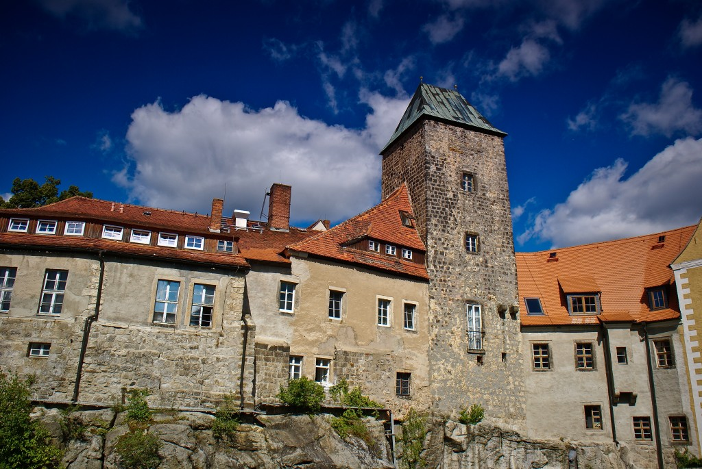 Zdjęcia: Hohnstein, Szwajcaria Saksońska, Hohnstein. Zamek na skale., NIEMCY