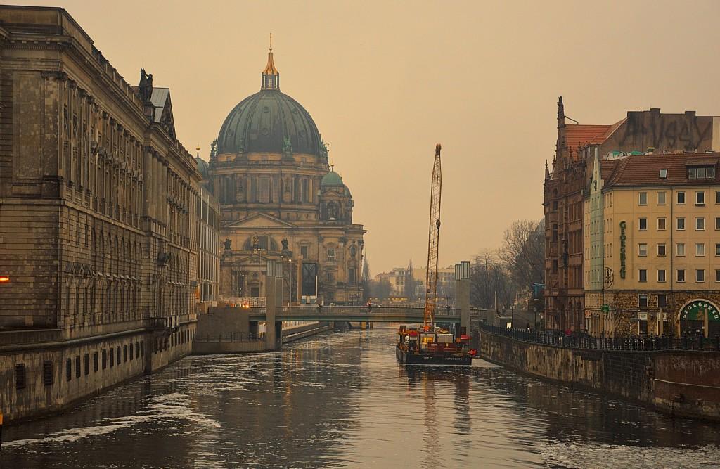 Zdjęcia: Berlin, W Berlinie zimą, NIEMCY