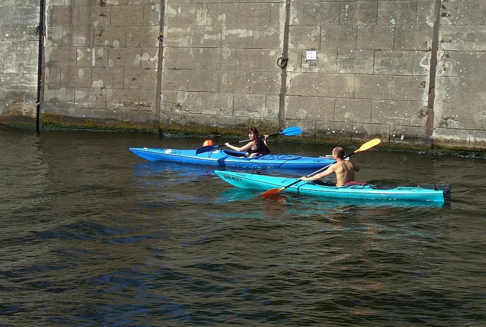 Zdjęcia: Rzeka Szprewa, Berlin, Spływ kajakowy, NIEMCY