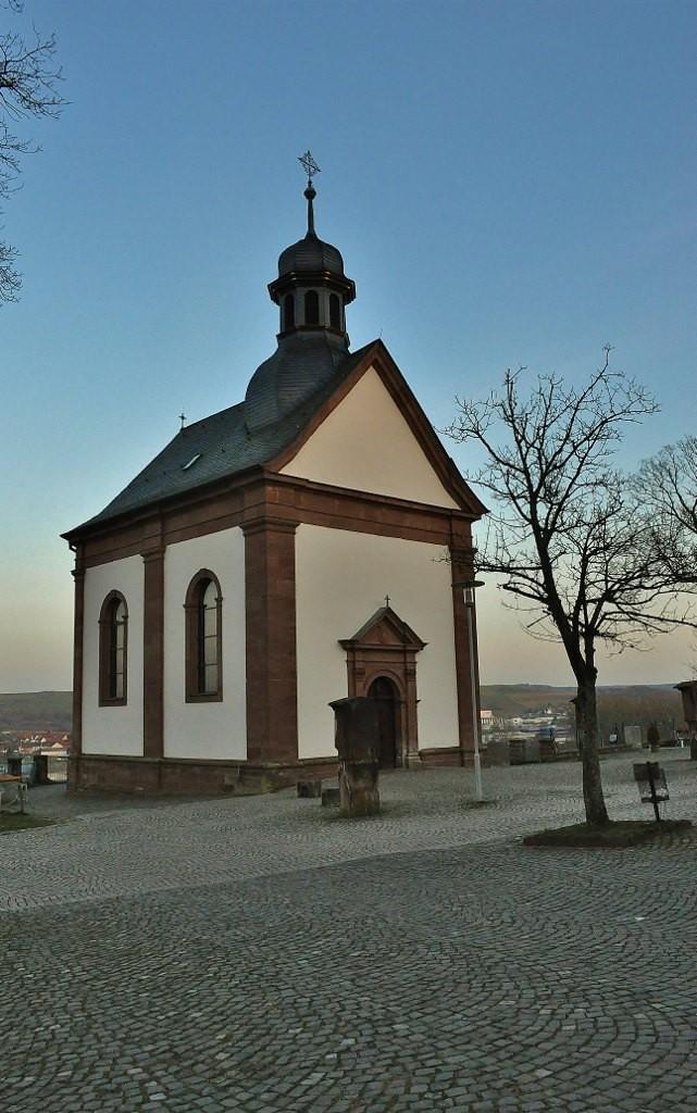 Zdj u0119cia  Blieskastel, Saarland, Blieskastel, klasztor na g u00f3rce, kaplica z XVII w , NIEMCY