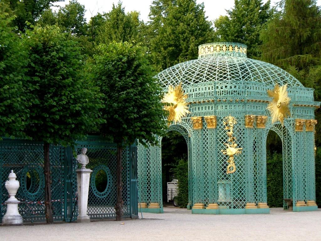 Zdjęcia: Sans, Souci, Poczdam, Brandenburgia, Altana parkowa, NIEMCY