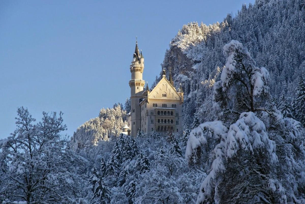 Zdjęcia: Neuschwanstein, Bawaria, Neuschwanstein, NIEMCY