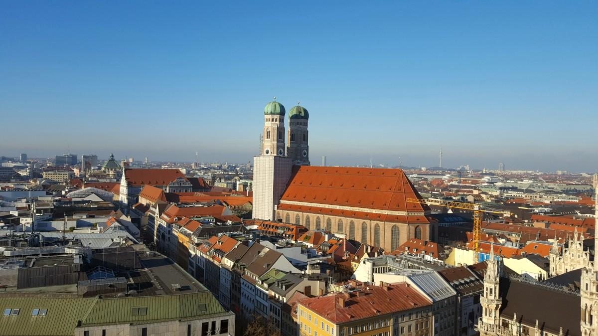 Zdjęcia: Monachium, Bawaria, Frauenkirche, NIEMCY