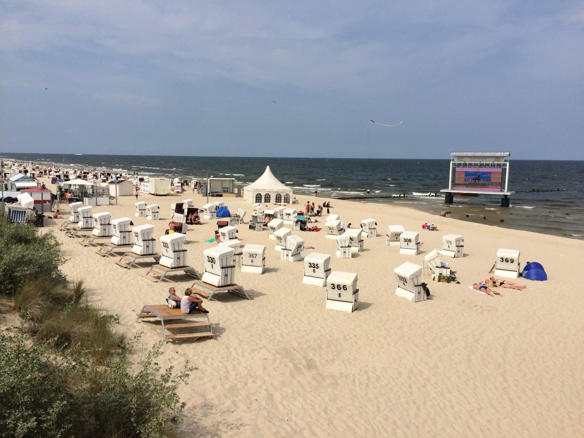 Zdjęcia: Heringsdorf , xxx, Plaża w Heringsdorfie, NIEMCY
