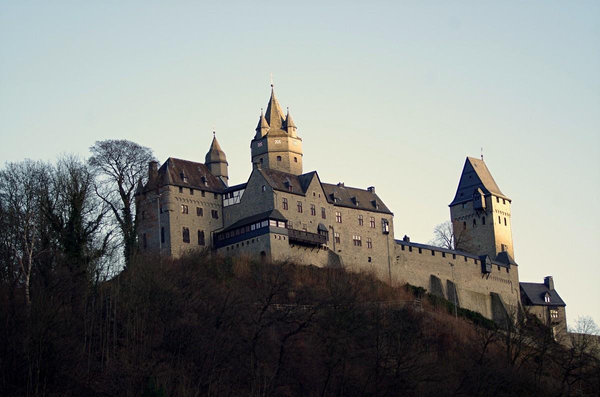 Zdjęcia: Altena, Westfalia, - zamek -, NIEMCY