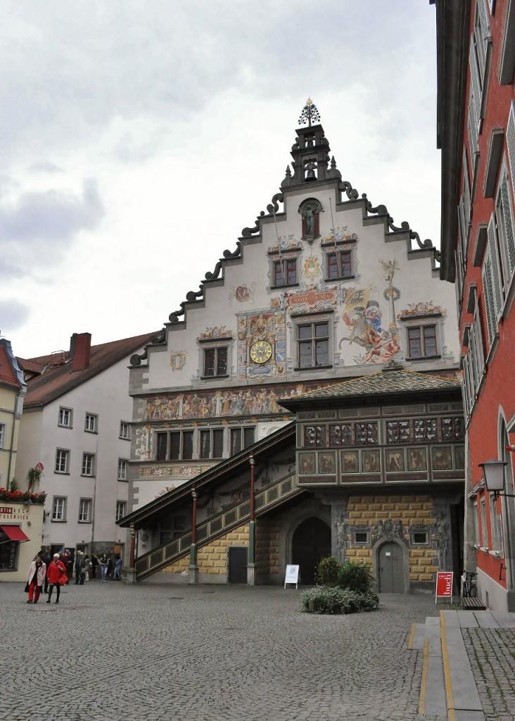 Zdjęcia: Lindau, Bawaria, Lindau, Ratusz w Lindau, zbudowany 1422-36, NIEMCY