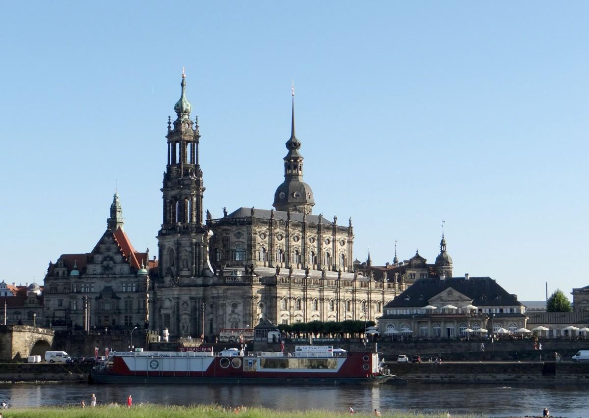 Zdjęcia: Drezno, Saksonia, Drezno....spacerując nad Łabą, NIEMCY