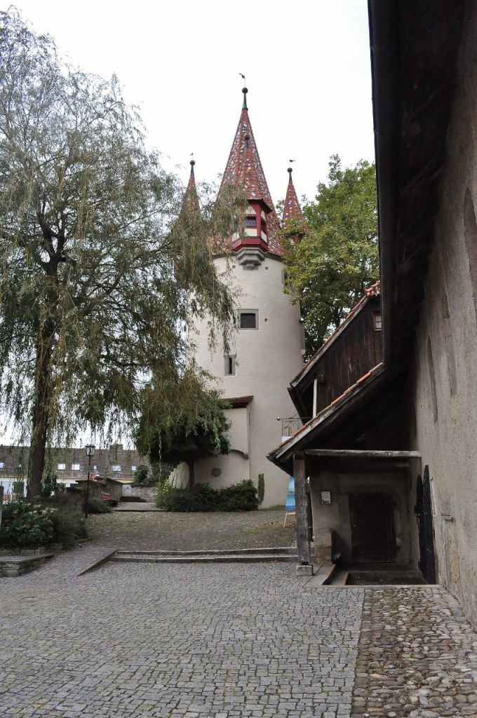Zdjęcia: Lindau, Bawaria, Lindau, baszta miejska, NIEMCY