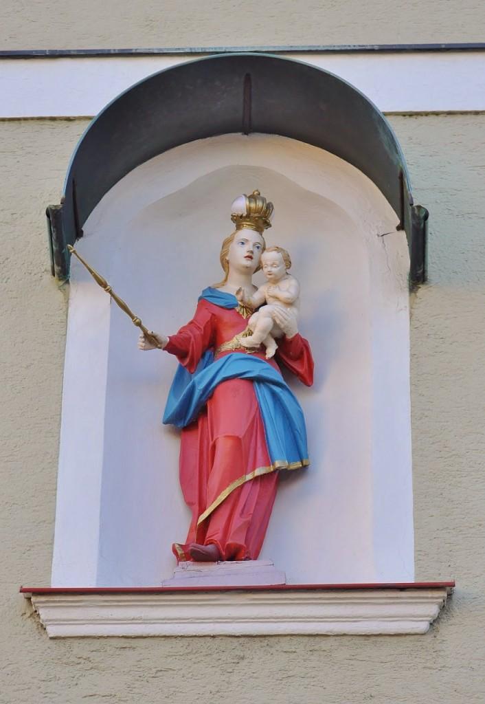 Zdjęcia: Neustadt an der Waldnaab, Bawaria, Neustadt an der Waldnaab, centrum, kościół parafialny, NIEMCY