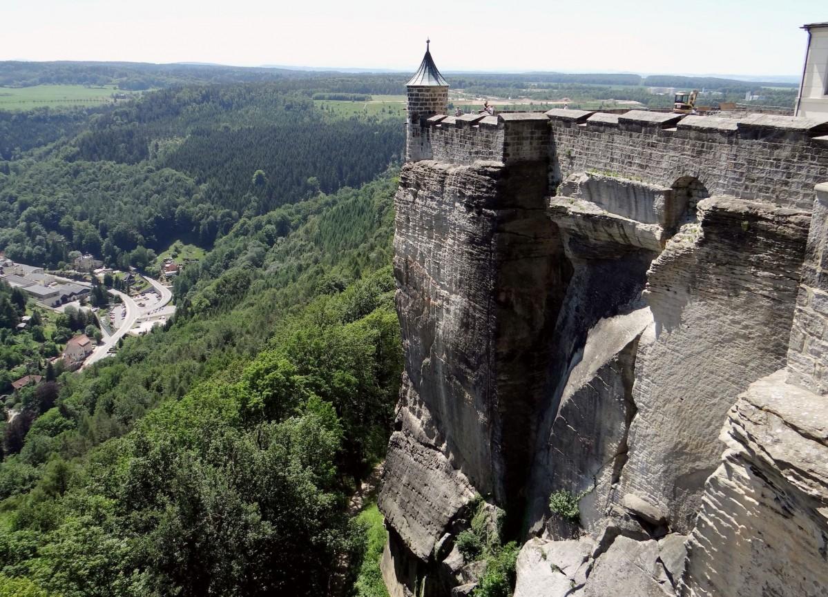 Zdjęcia: Königstein, Saska Szwajcaria, Twierdza Königstein, NIEMCY