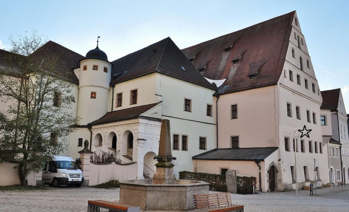 Zdjęcia: Neustadt an der Waldnaab, Bawaria, Neustadt an der Waldnaab, centrum, zamek z XVI w., NIEMCY