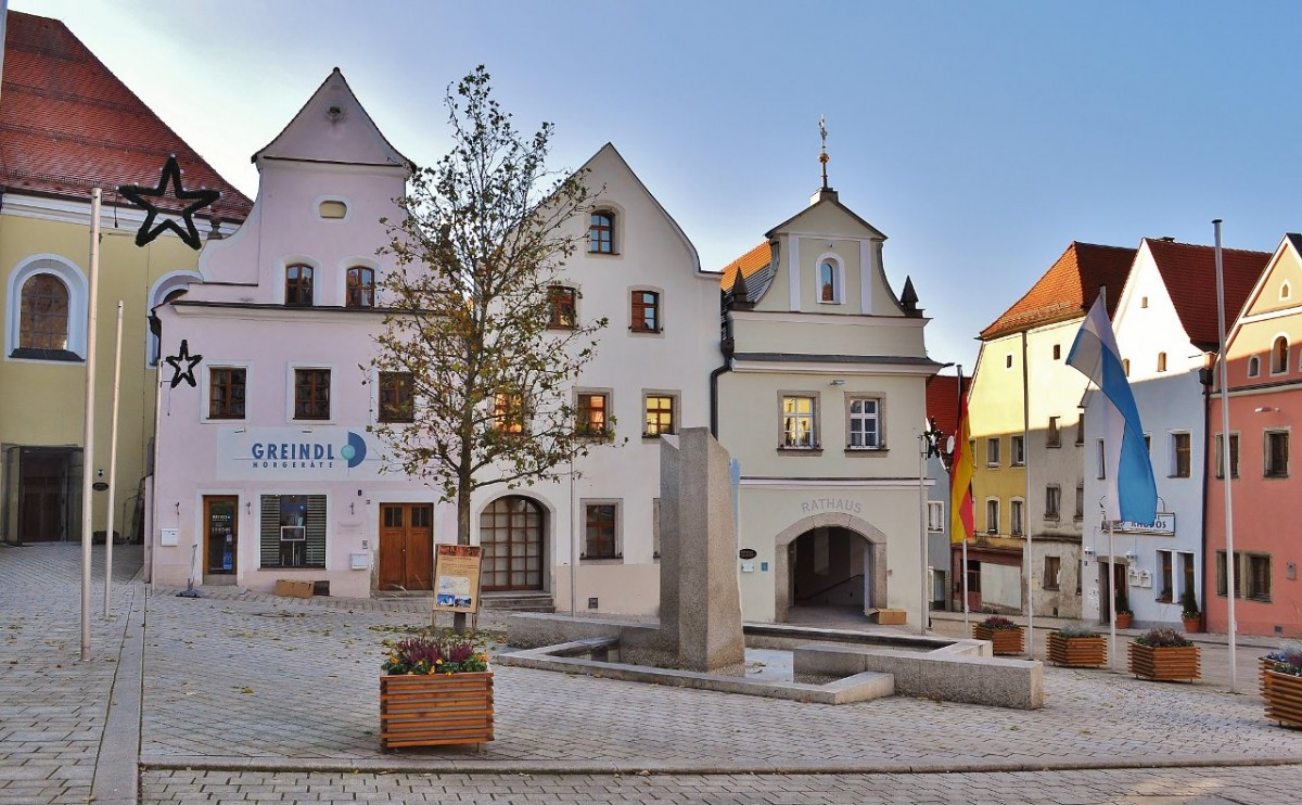 Zdjęcia: Neustadt an der Waldnaab, Bawaria, Neustadt an der Waldnaab, centrum, NIEMCY