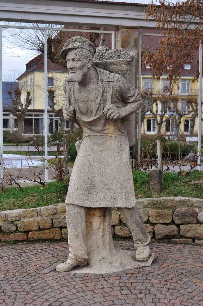 Zdjęcia: Bad Dürkheim, Nadrenia-Palatynat, Bad Dürkheim, pomnik winiarza , NIEMCY