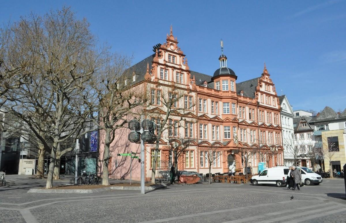 Zdjęcia: Moguncja, Nadrenia-Palatynat, Bad Dürkheim, stare miasto, muzeum Gutenberga., NIEMCY