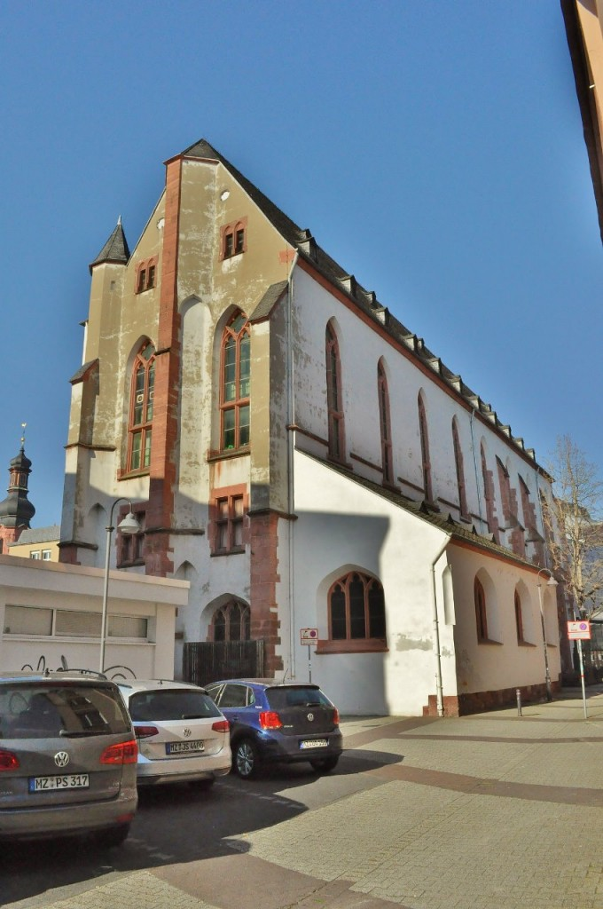 Zdjęcia: Moguncja, Nadrenia-Palatynat, Moguncja, dawny kościół Klarysek, NIEMCY