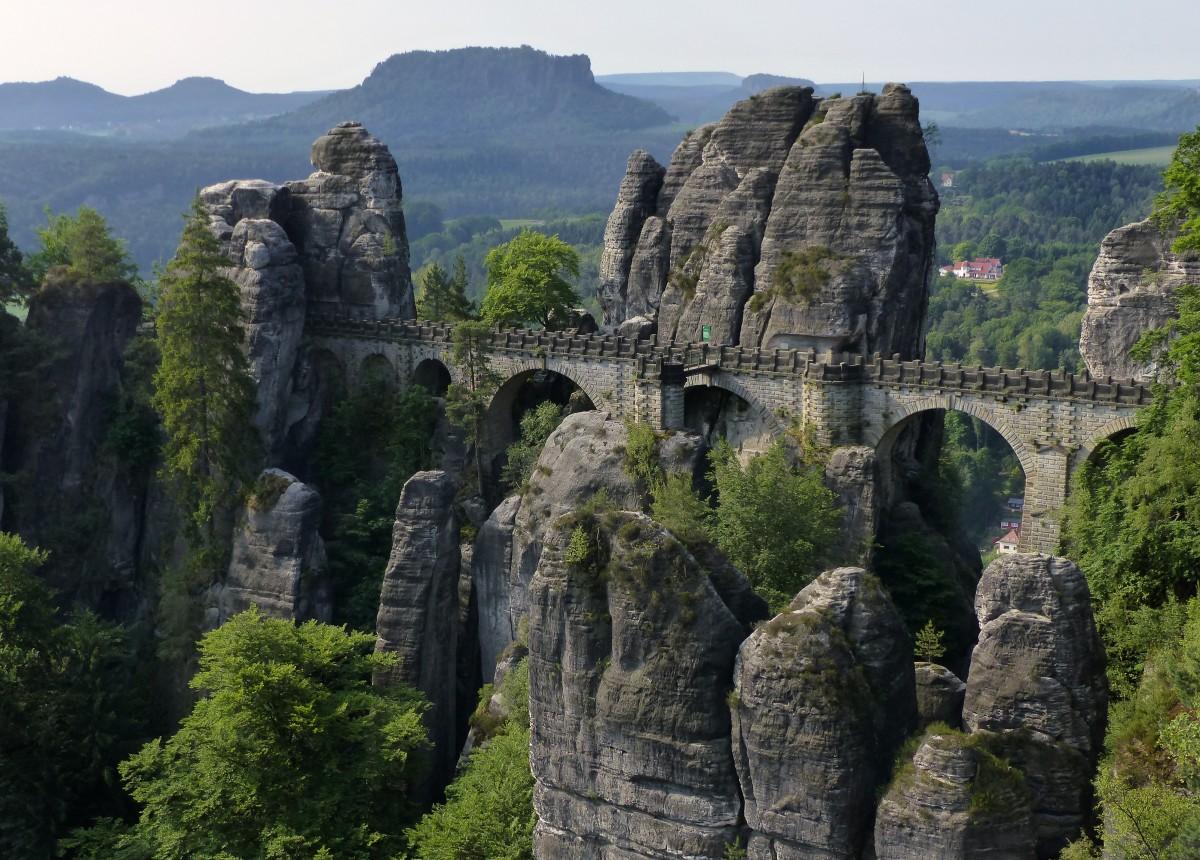 Zdjęcia: Bastei, Saksonia, Bastei, NIEMCY