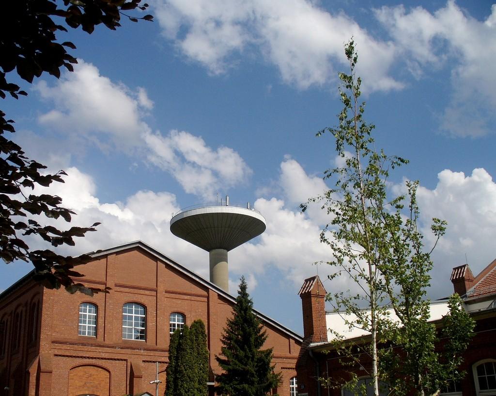Zdjęcia: Berlin, Brandenburgia, Nowoczesna wieża ciśnień , NIEMCY
