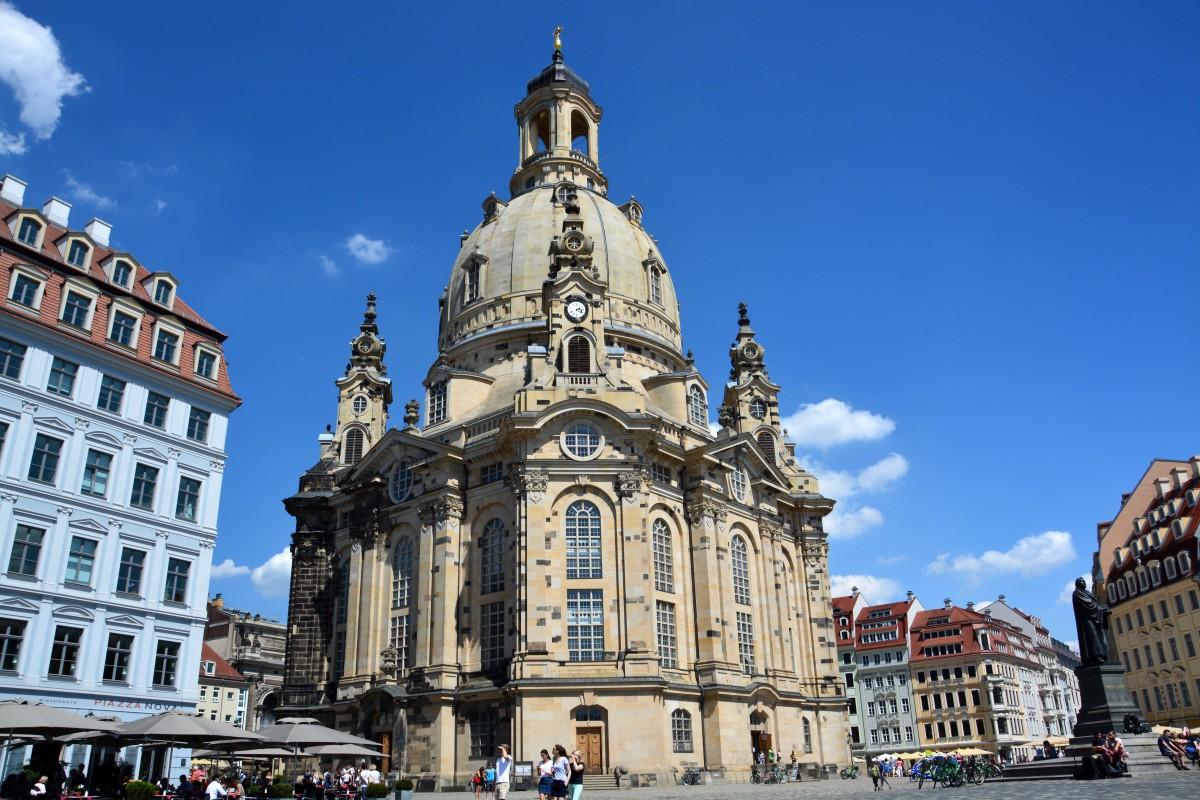 Zdjęcia: Drezno, Saksonia, Frauenkirche, NIEMCY