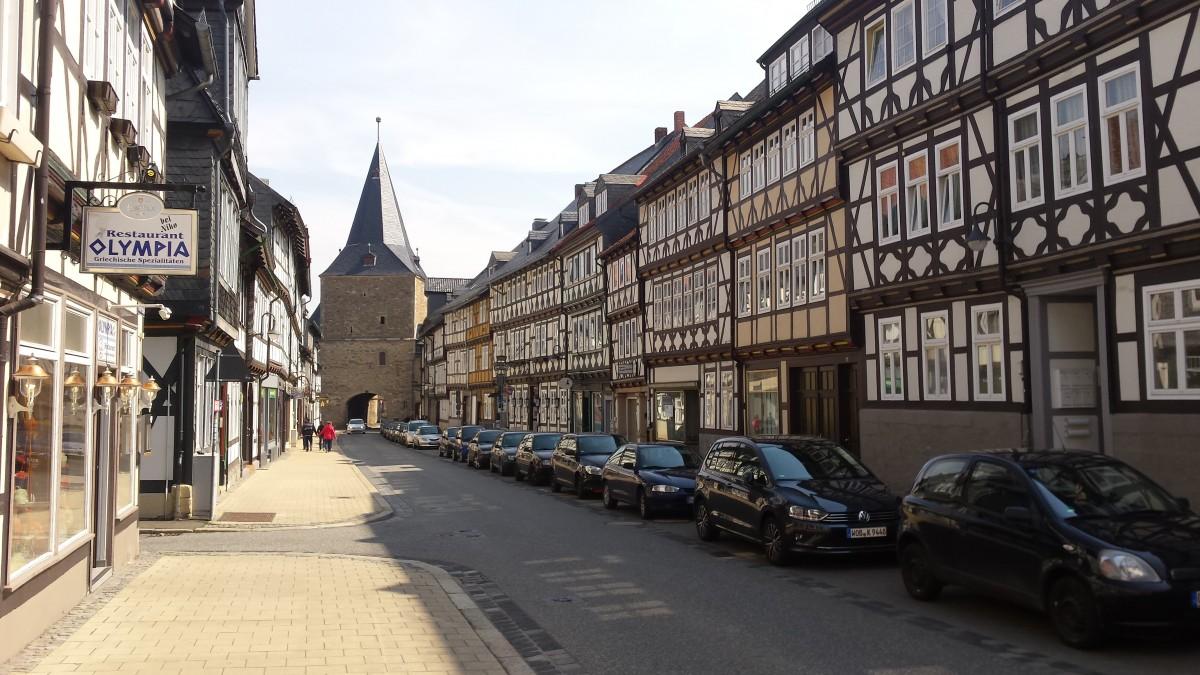 Zdjęcia: Goslar, Dolna Saksonia, Uliczki w Goslar, NIEMCY